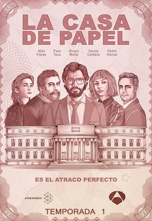La Casa de Papel 1ª Temporada Completa (2017) Dual Áudio WEB-DL 720p – Baixar Torrent Download