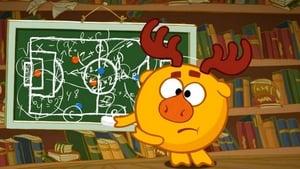 Kikoriki Season 1 :Episode 57  Soccer Game, 1st Half