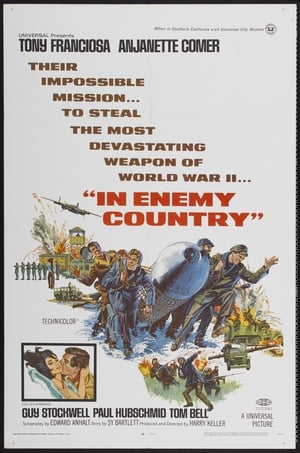 In Enemy Country poster