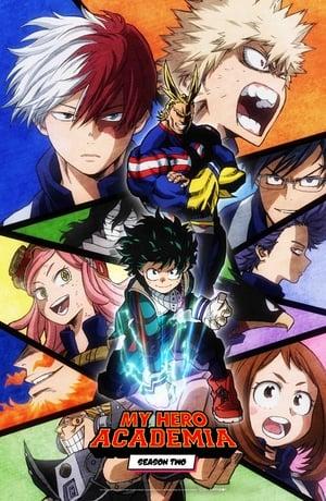 Boku no Hero Academia 2ª Temporada Torrent, Download, movie, filme, poster