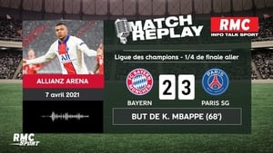 League des champions quart de finale aller BAYERNMUNICH VS PSG du 07 04 21