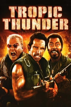 Tropic Thunder film posters