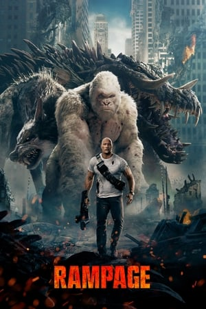 Rampage 2018 720p 590MB HDRip [Hindi Clean – English] ESubs MKV