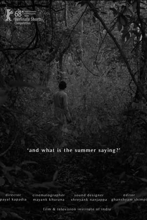 And What Is the Summer Saying