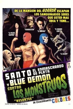 Santo and Blue Demon Against the Monsters
