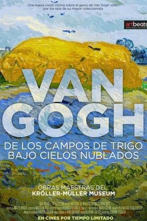 Van Gogh: De los campos de trigo bajo cielos nublados