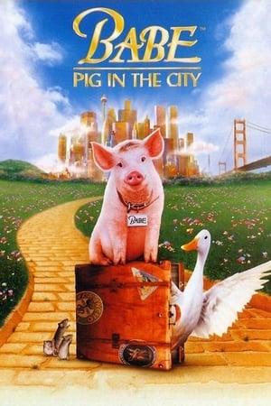 Babe - O Porquinho Atrapalhado na Cidade (1998) Dublado Online