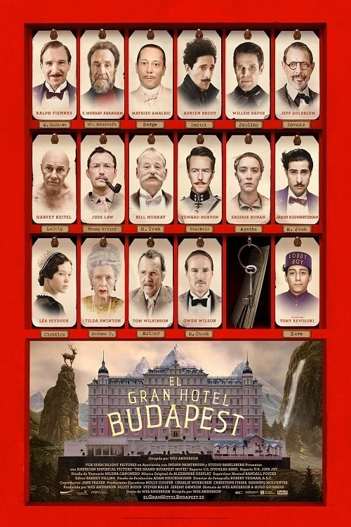 VER El gran hotel Budapest Online Gratis HD