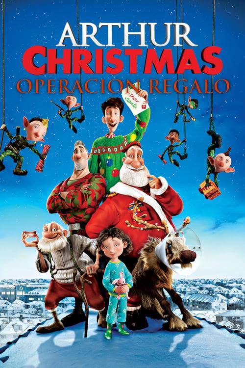 VER Arthur Christmas: Operación regalo Online Gratis HD
