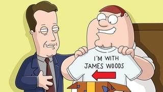 James Woods grande pene