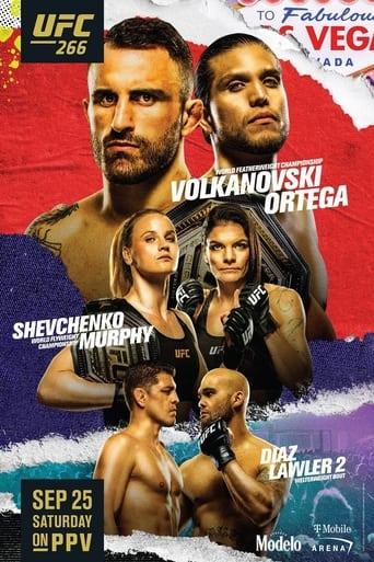 UFC 266: Volkanovski vs. Ortega