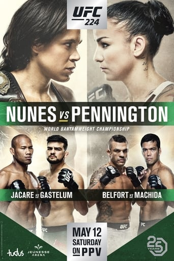 watch UFC 224: Nunes vs. Pennington free online 2018 english subtitles HD stream