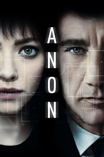 watch Anon free online 2018 english subtitles HD stream