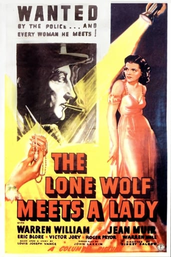 Poster of The Lone Wolf Meets a Lady