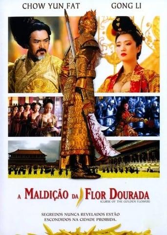 A Maldição da Flor Dourada - Poster