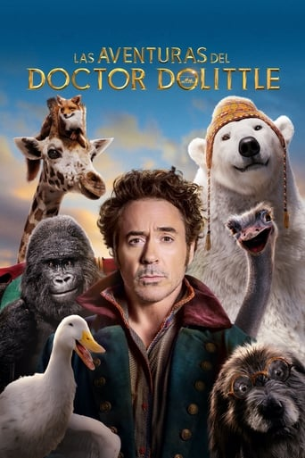 Poster of Las aventuras del Doctor Dolittle