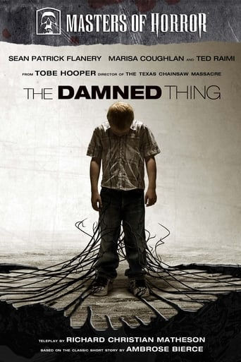 Poster of The Damned Thing