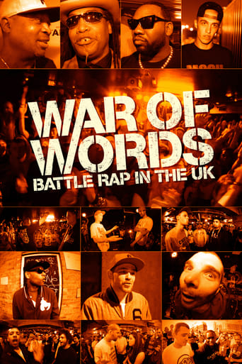 Poster of War of Words: Battle Rap in the UK