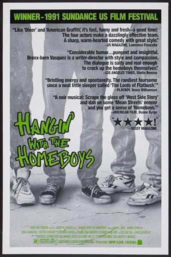 Poster of Hangin' with the Homeboys