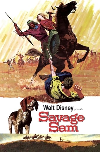 Savage Sam Poster