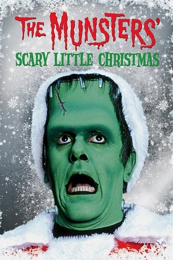 The Munsters' Scary Little Christmas Movie Poster