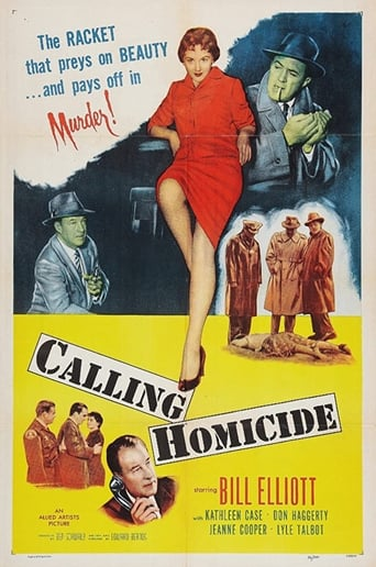 Poster of Calling Homicide