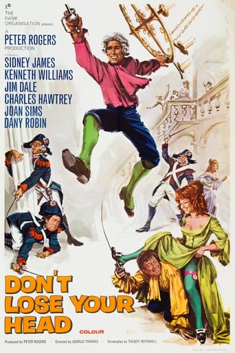 Poster of Carry On Don't Lose Your Head