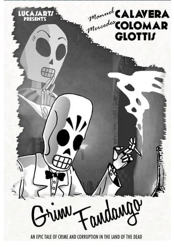 Poster of Grim Fandango