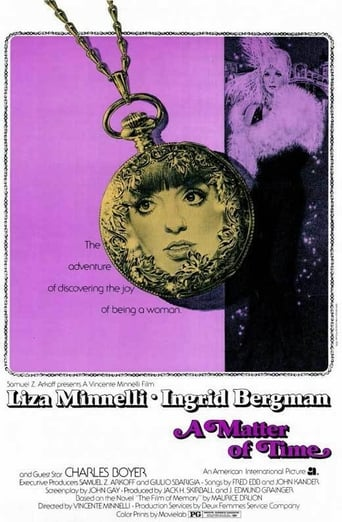 Official movie poster for A Matter of Time (1976)