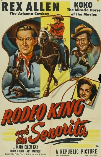 Poster of Rodeo King and the Senorita