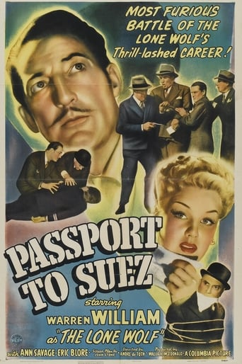 Poster of Passport to Suez