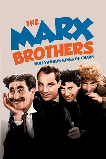 Poster of The Marx Brothers: Hollywood's Kings of Chaos
