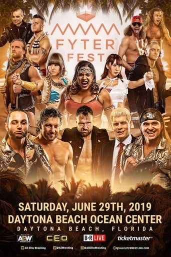 Poster of AEW Fyter Fest