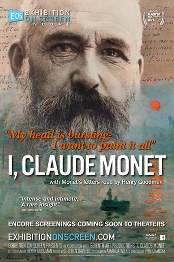 Poster of I, Claude Monet