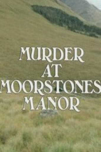 Poster of Murder at Moorstones Manor
