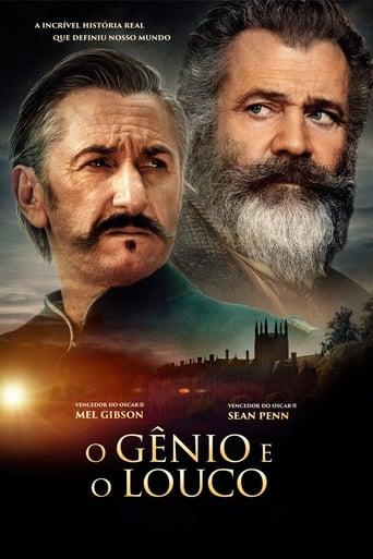 O Gênio e o Louco - Poster