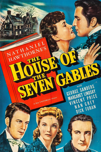 Poster of The House of the Seven Gables