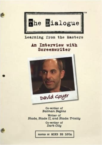 The Dialogue: An Interview with Screenwriter David Goyer