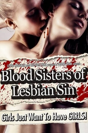 Poster of Blood Sisters of Lesbian Sin