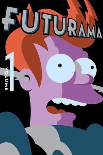 Futurama 1ª Temporada - Poster