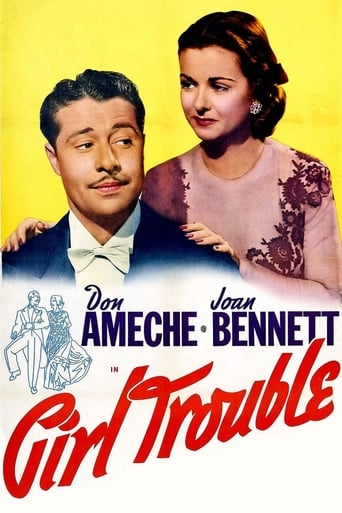 Poster of Girl Trouble