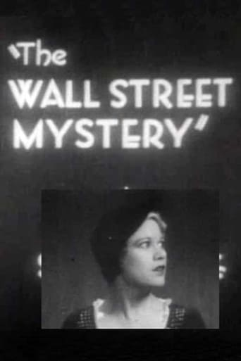 Poster of The Wall Street Mystery