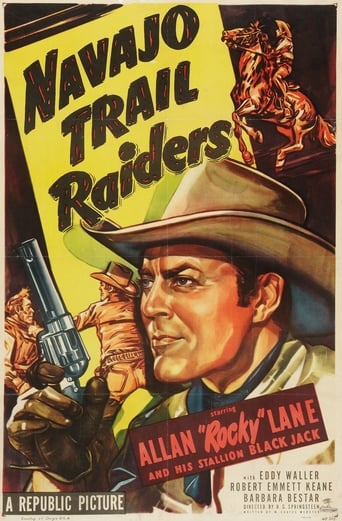 Poster of Navajo Trail Raiders