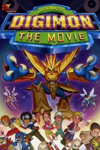 portada Digimon: La película