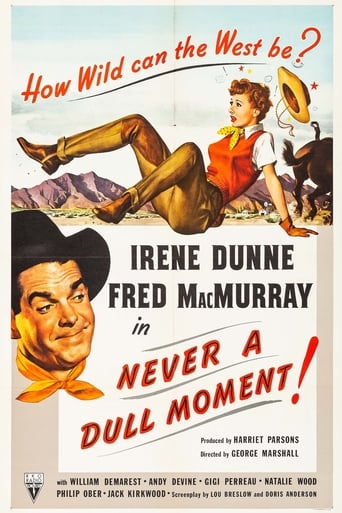 Poster of Never a Dull Moment