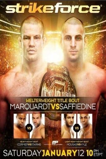 Poster of Strikeforce: Marquardt vs. Saffiedine