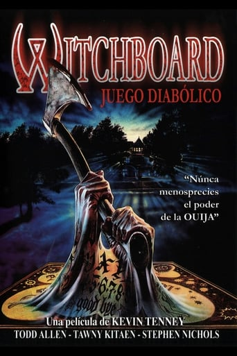 Poster of Witchboard: Juego diabólico