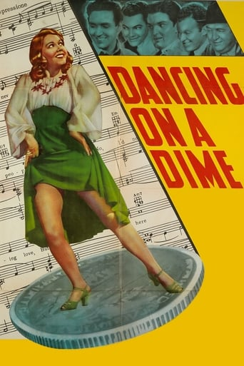 Poster of Dancing on a Dime