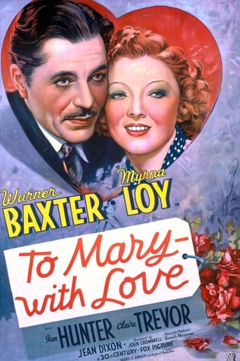Poster of To Mary - with Love