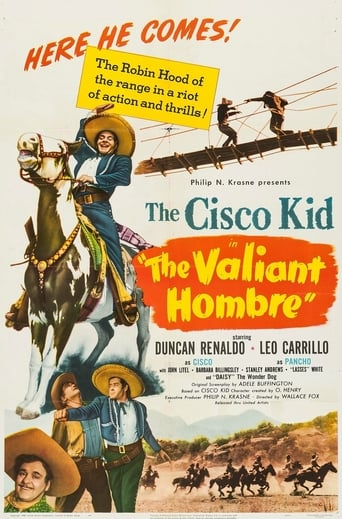Poster of The Valiant Hombre